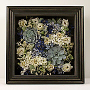 Preserved Succulents and Lisianthus